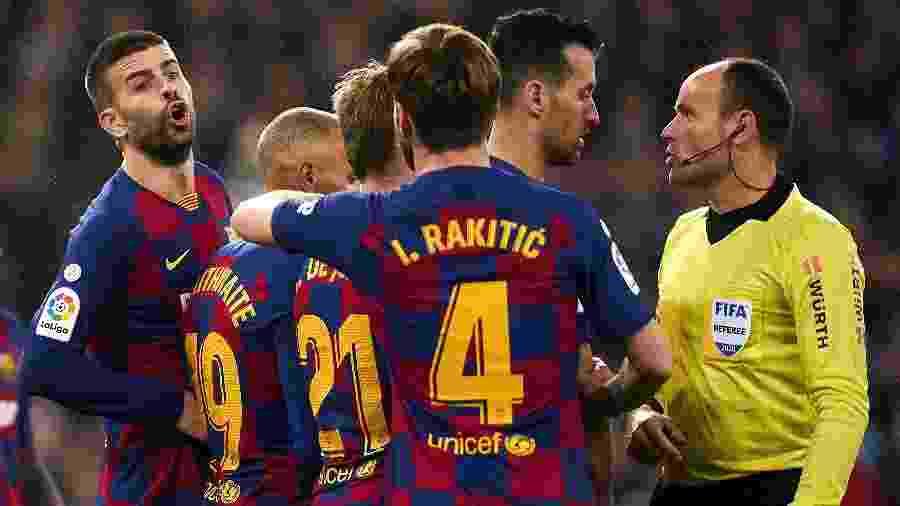 Jogadores da Espanha se preocupam com a volta do futebol e pedem esclarecimentos sobre testes  - Quality Sport Images/Getty Images