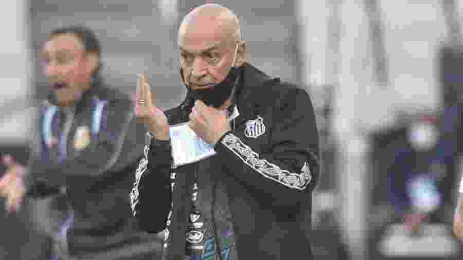 Jesualdo Ferreira, técnico do Santos, durante partida contra o Novorizontino - Ivan Storti