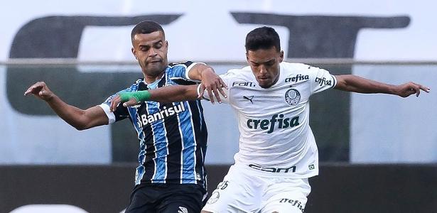 1 a 1 no Brasileirão   Palmeiras empata com Grêmio e perde chance de colar nos líderes do campeonato