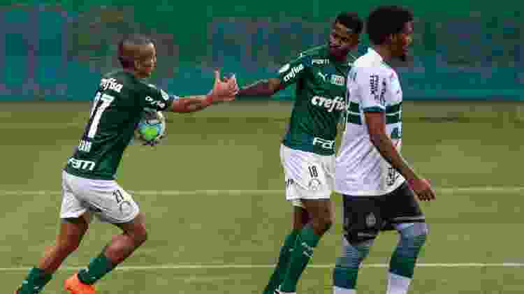 Gol do Palmeiras - Marcello Zambrana/AGIF - Marcello Zambrana/AGIF