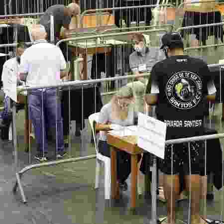 Assembleia geral de sócios do Santos - Pedro Ernersto Guerra Azevedo