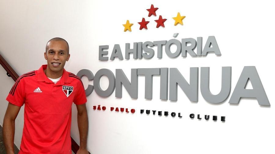 Reforço do São Paulo, Miranda é mais um jogador a trocar a China pelo Brasil - Divulgação/São Paulo