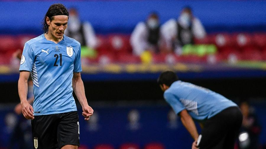 O Uruguai de Cavani se despediu prematuramente da Copa América - Mateus Bonomi/AGIF