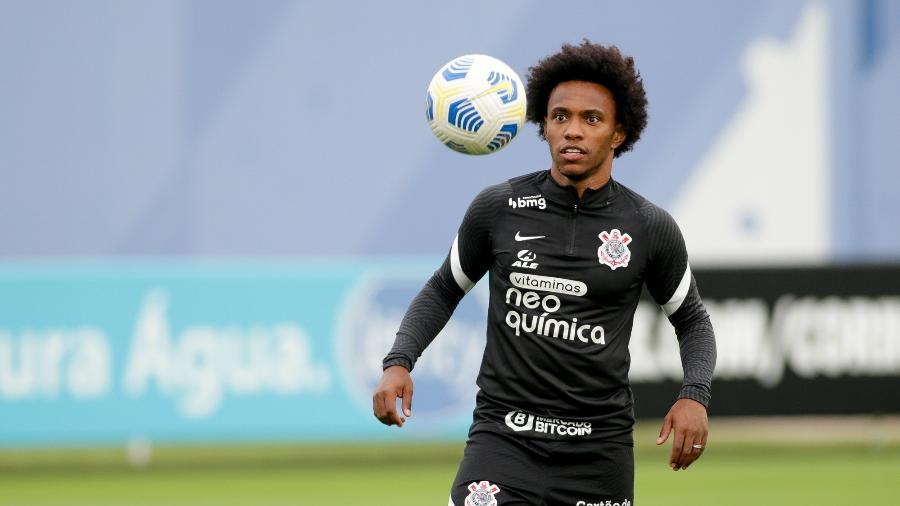 Meia voltou para clube que o formou profissionalmente no futebol após passagem frustrada no Arsenal - Rodrigo Coca/Agência Corinthians