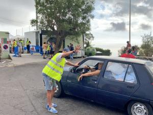 Llegan los vecinos a Unión Deportiva Las Palmas - Twitter / RNE Canarias - Twitter / RNE Canarias