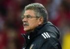 Brasileiro Tuca Ferretti será técnico da seleção do México por quatro jogos - AFP PHOTO / Vinicius COSTA