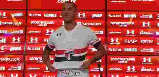 Ytalo treinou no time reserva nesta terça e deve começar no banco em Curitiba - Reprodução
