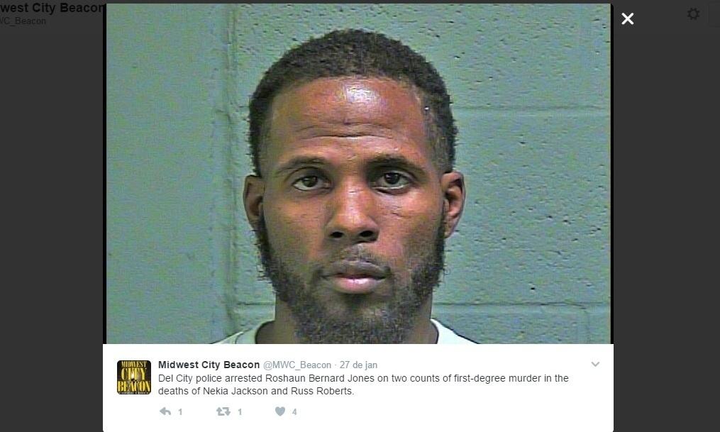 Roshaun Bernard Jones, lutador de MMA, foi preso acusado de assassinato