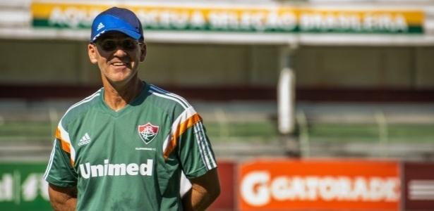 Marcelo Veiga está de volta ao banco de reservas do Fluminense