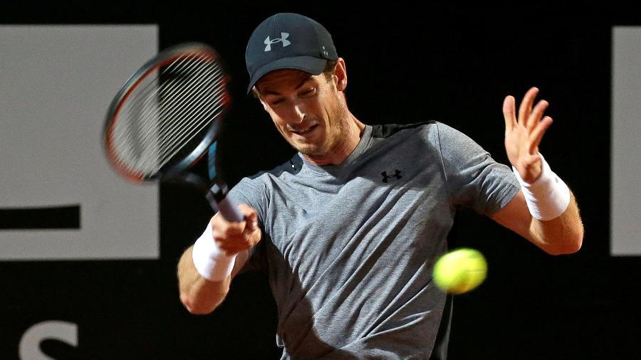 Andy Murray em ação em Roma. Tenista se posicionou sobre possível boicote. - Max Rossi/Reuters
