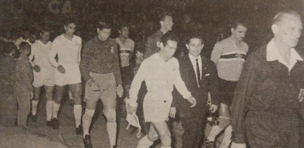 Amistoso entre Grêmio e Real Madrid, em 1961, terminou com goleada espanhola: 4 a 1