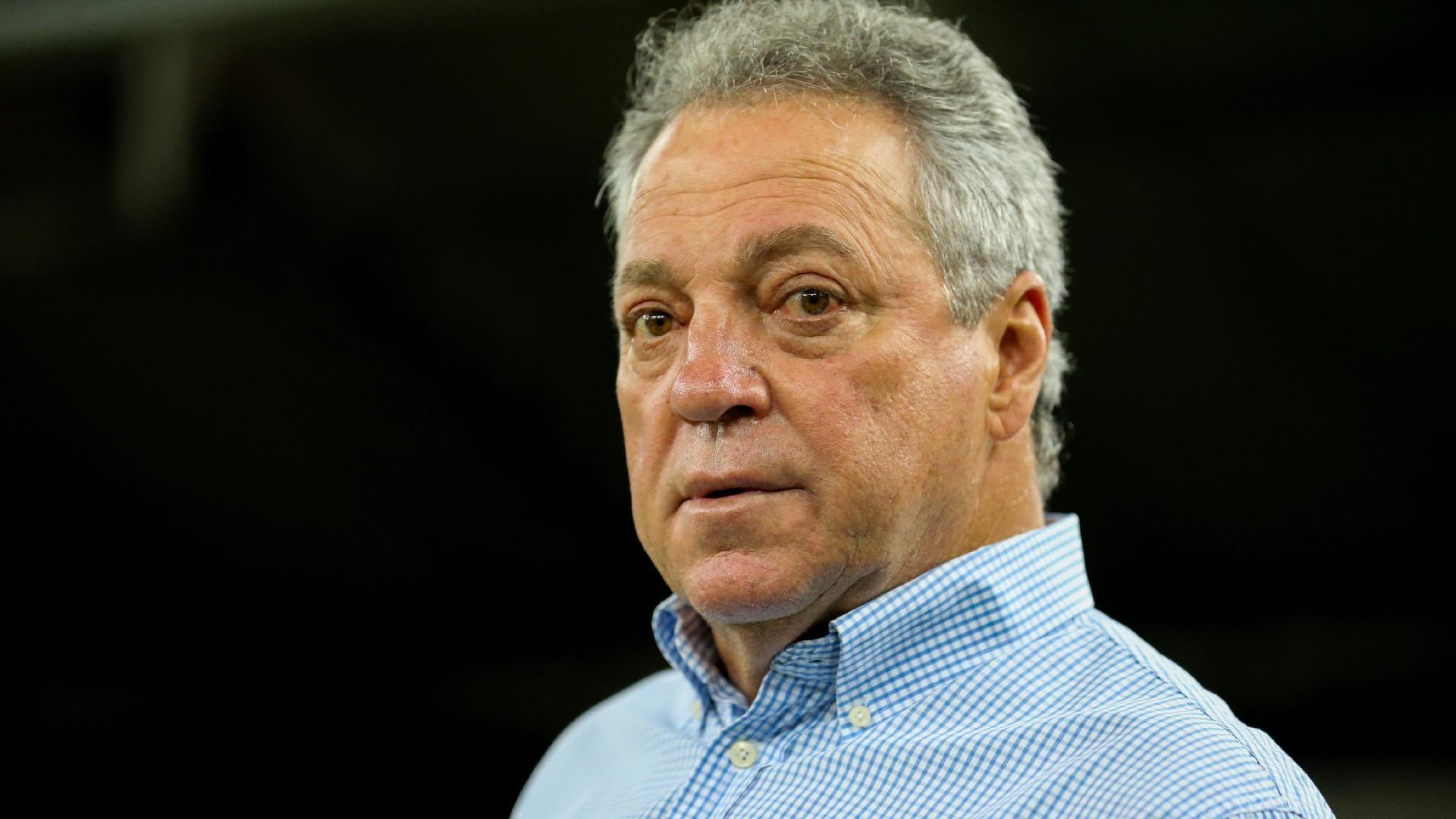 Abel Braga, técnico do Fluminense, na partida contra o Nova Iguaçu
