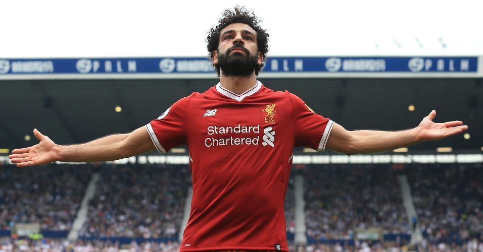 Efeito Salah  camisas do Liverpool acabaram após classificação para a final 1a1bf8effc030