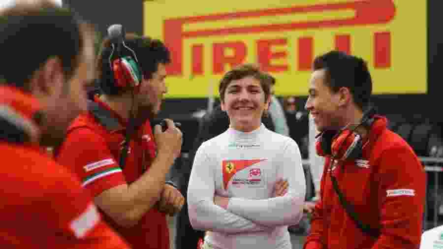 Enzo Fittipaldi é piloto da academia da Ferrari - Prema Powerteam/ Divulgação/ RF1