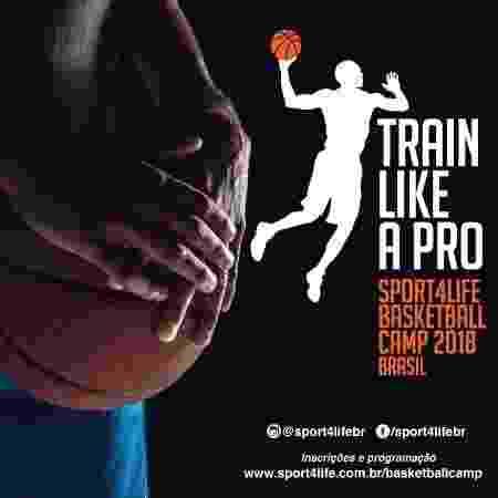 """Camp """"Train like a pro"""" é organizado por Luiz Lemes, scout com serviços prestados para o Boston Celtics - Divulgação - Divulgação"""