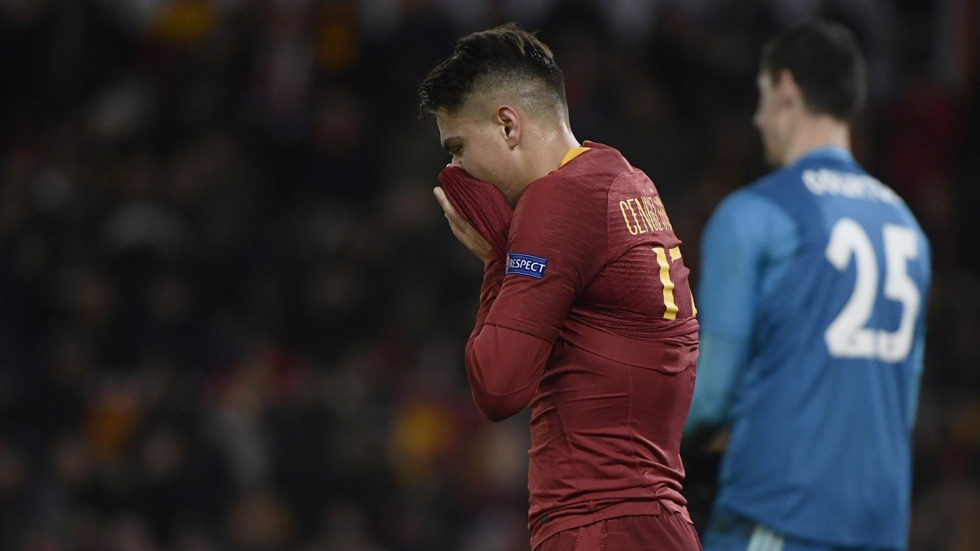 Under lamenta após perder chance pela Roma contra o Real Madrid