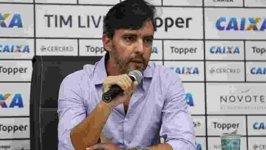 Gustavo Noronha não tinha bom relacionamento com atletas mesmo antes de perder cargo de vice de futebol - Vitor Silva/SS Press/Botafogo