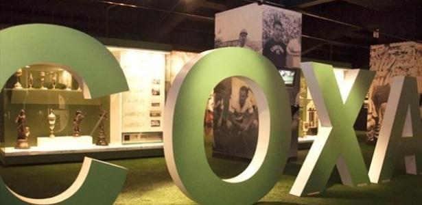 Antigo museu do Coxa está desativado desde 2012: clube aprovou projeto com a Lei Rouanet
