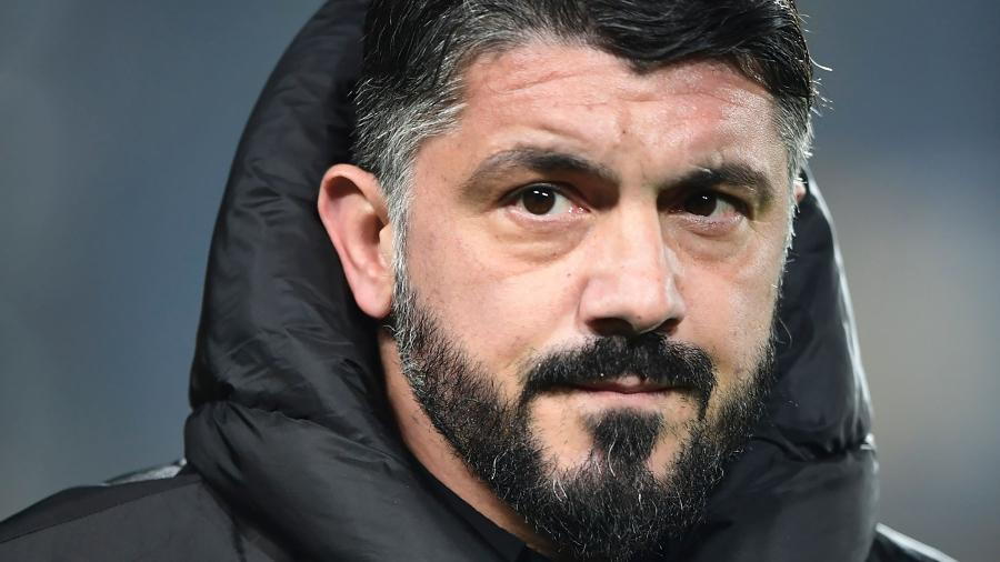 Genaro Gattuso deixou o Milan e foi oferecido ao Flamengo por intermédio de empresário italiano - Miguel Medina/AFP