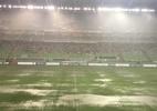América-MG x Cruzeiro é atrasado devido à forte chuva em Belo Horizonte - Enrico Bruno/UOL Esporte