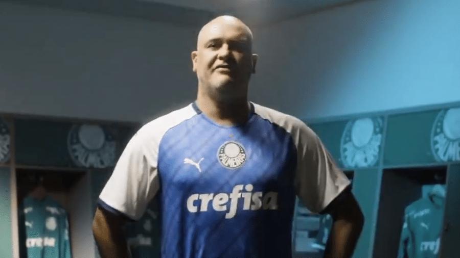 7305123b6bffc Palmeiras lança camisa em homenagem a Marcos e título da Libertadores