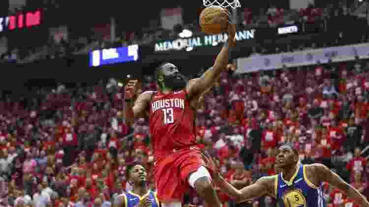 Harden e os Rockets encaram o Golden State na tradicional rodada de Natal da NBA - Troy Taormina-USA TODAY Sports
