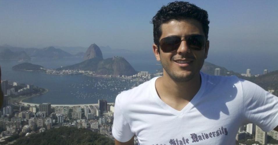 Estivens Alves, ex-marido de Najila Trindade