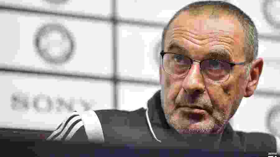 Maurizio Sarri afirmou que jogar em casa continua a ser uma vantagem, mesmo com jogos sem torcida - Divulgação