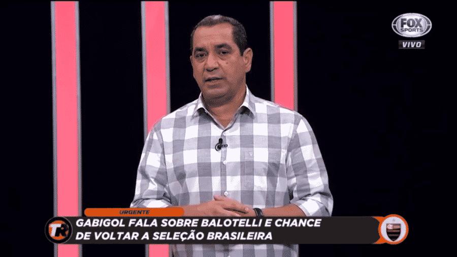 Zinho falou sobre chance de Gabigol na seleção brasileira - Reprodução/Fox Sports