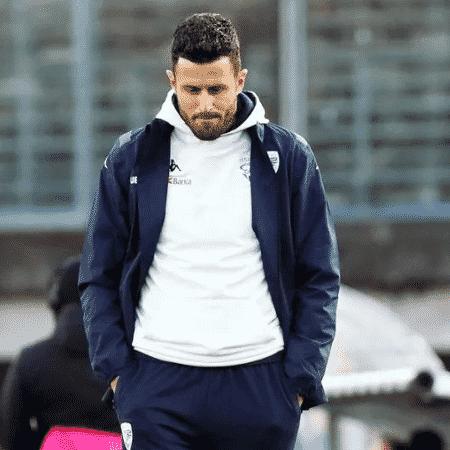 Técnico Fabio Grosso foi demitido do Brescia - Reprodução/Twitter