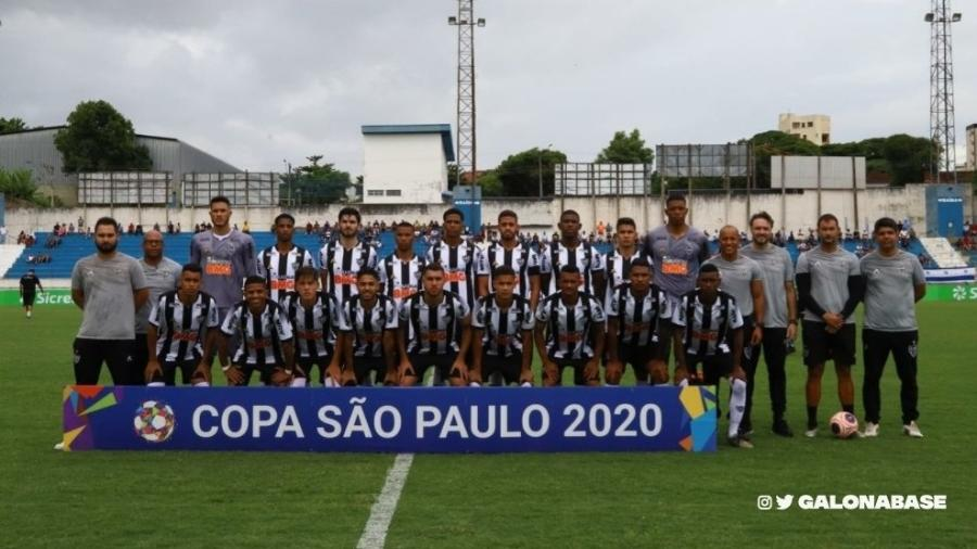 Galinho teve vitória apertada, mas importante que garantiu a classificação para a próxima fase da Copinha - Divulgação/Atlético-MG