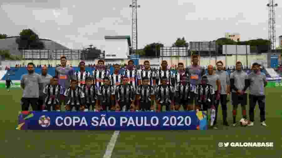 Time do Atlético-MG para a disputa da Copa São Paulo de Juniores 2020 - Divulgação/Atlético-MG