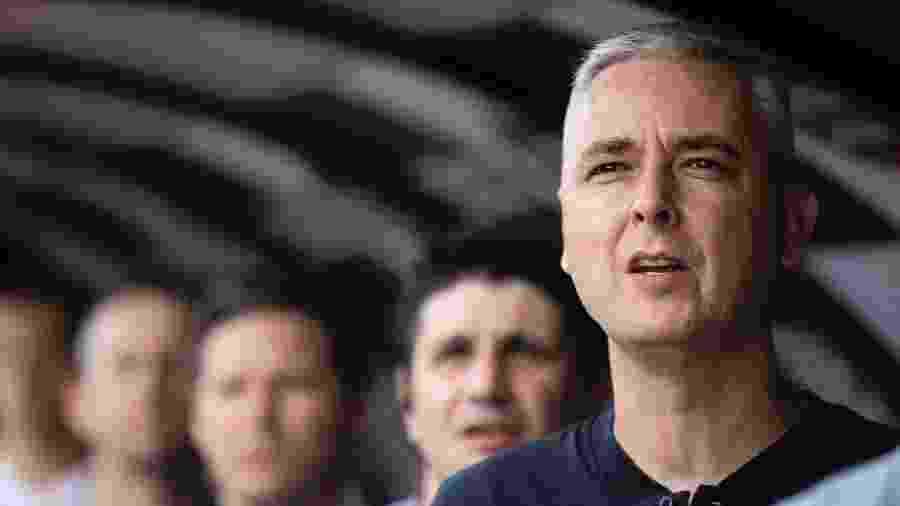 Tiago Nunes, treinador do Corinthians, durante partida contra a Inter de Limeira - Daniel Vorley/AGIF