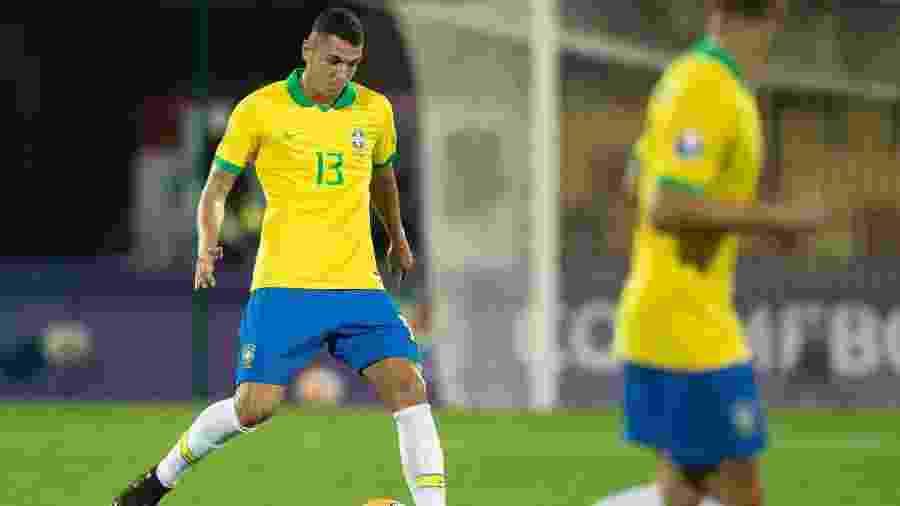"""Nino fez bom pré-olímpico com a seleção brasileira e """"reforça"""" zaga do Fluminense - Lucas Figueiredo/CBF"""