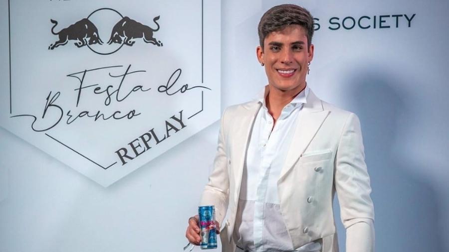 Tiago Ramos na festa de Neymar em Paris - Reprodução/Instagram
