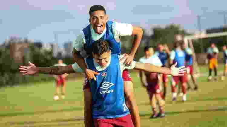 Fluminense conta Evanílson e Marcos Paulo para bater o Figueirense e se classificar na Copa do Brasil - Lucas Merçon/Fluminense FC - Lucas Merçon/Fluminense FC