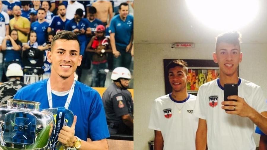Goleiros de Cruzeiro e Galo, Vitor Eudes e Kauã passaram pelas categorias do Boston City FC - Divulgação