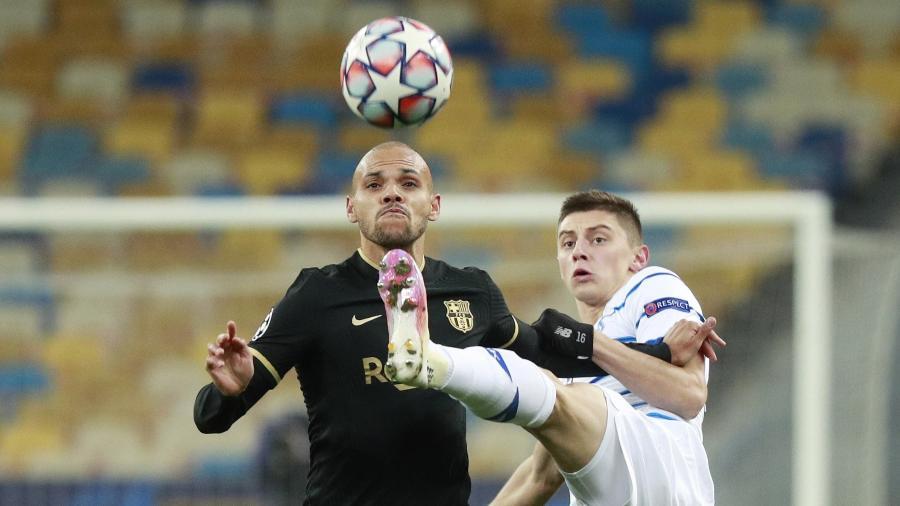 Barcelona e Dínamo de Kiev se enfrentam pela Liga dos Campeões - Valentyn Ogirenko/Reuters
