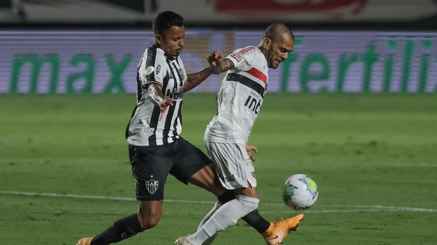 Galo e Tricolor Paulista se enfrentam pela primeira vez em 2021 após duelos importantes no ano passado - Marcello Zambrana/AGIF