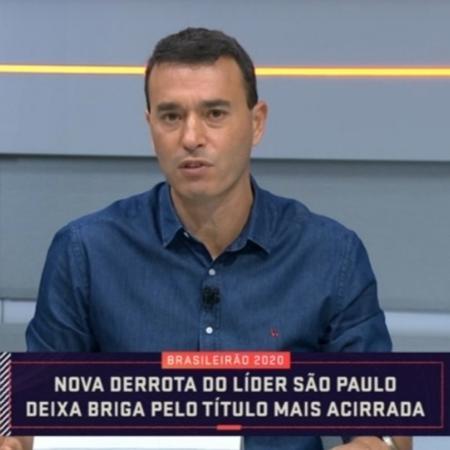 """André Rizek vê fim de """"efeito Ceni"""" como responsável por fim da paz no São Paulo - Reprodução/SporTV"""