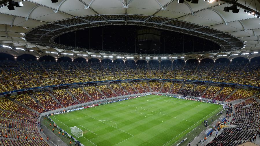 Arena Nacional, em Bucareste, na Romênia, receberá partida entre Atlético de Madri e Chelsea - Daniel Mihailescu/EuroFootball/Getty Images