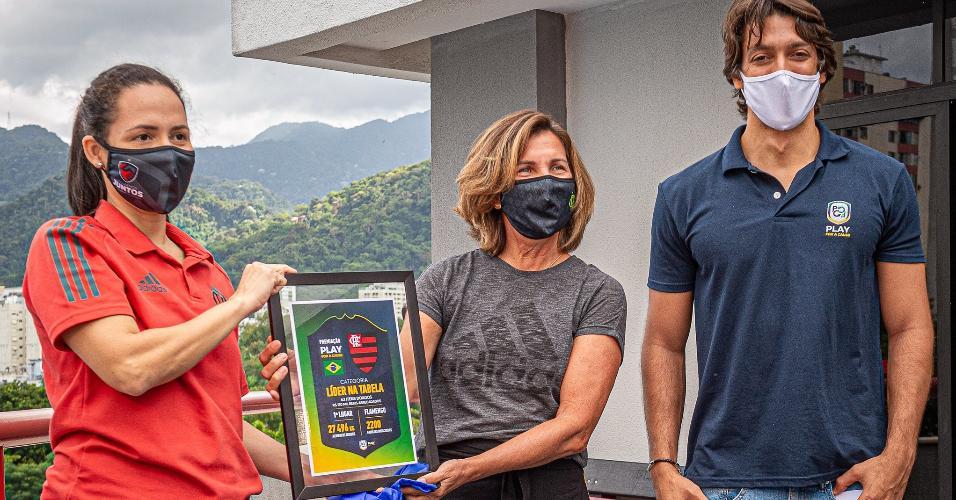Responsabilidade Social do Flamengo recebe Troféu