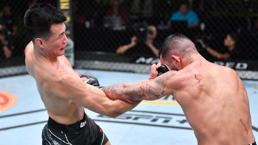 Zumbi Coreano vence luta principal e volta a se aproximar do título do UFC - Chris Unger/Zuffa LLC