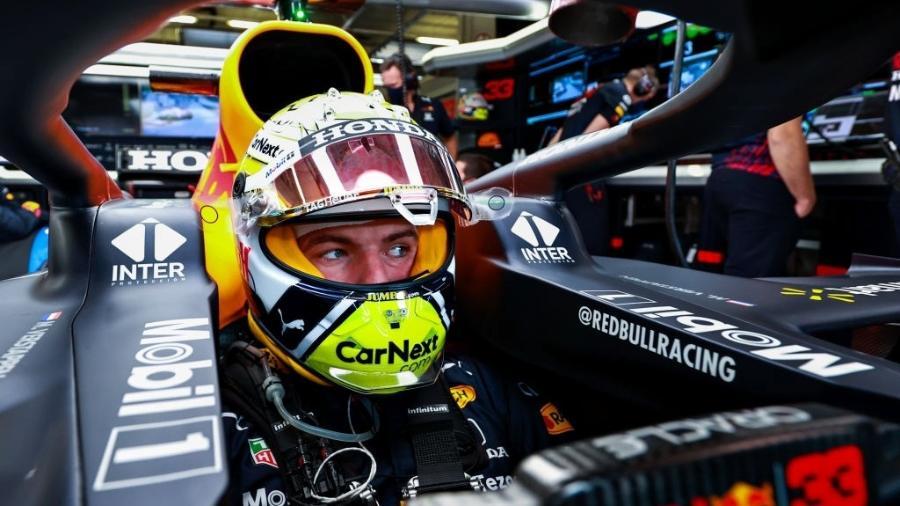 Verstappen, segundo colocado no Mundial, mas líder no ranking de voltas lideradas na temporada - Mark Thompson/Getty Images
