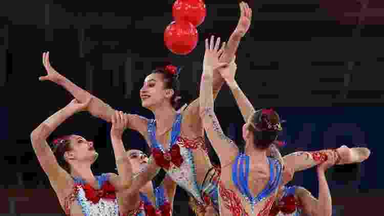 Equipe de ginástica rítmica do Uzbequistão conquista brasileiros por se inspirar de Sailor Moon  - REUTERS/Mike Blake - REUTERS/Mike Blake