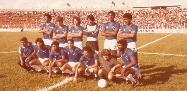 Vítor foi goleiro do Cruzeiro por 15 anos, como na temporada de 1983