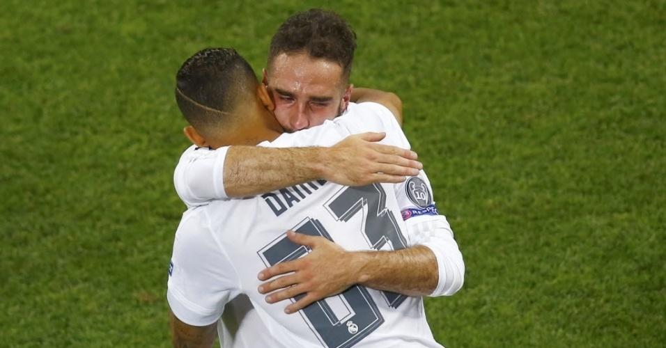 Carvajal é substituído pelo brasileiro Danilo na final da Liga dos Campeões da Europa