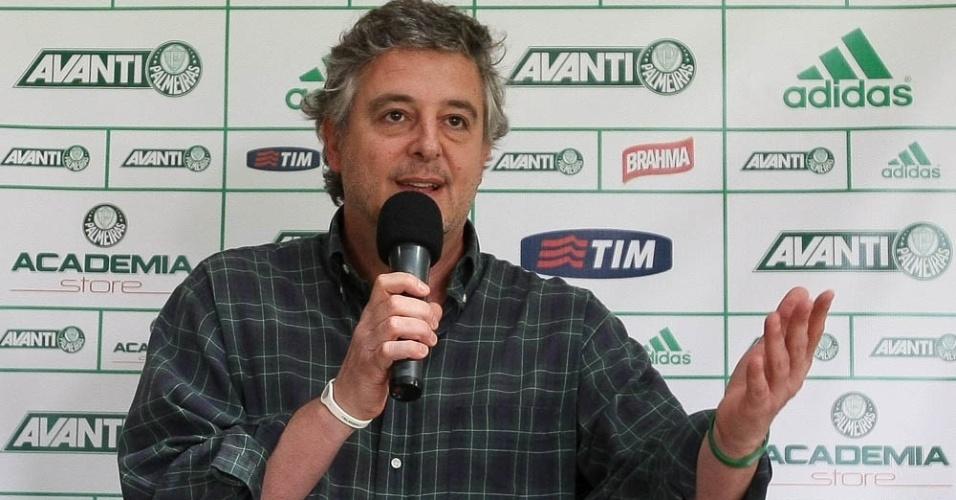 Paulo Nobre Palmeiras entrevista