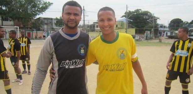 Anderson Brum e Deyverson cresceram jogando futebol, e seguem na profissão - Arquivo Pessoal
