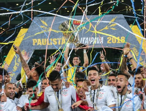 Corinthians chega ao Paulistão de 2019 como o campeão das últimas duas edições - Ale Cabral/AGIF